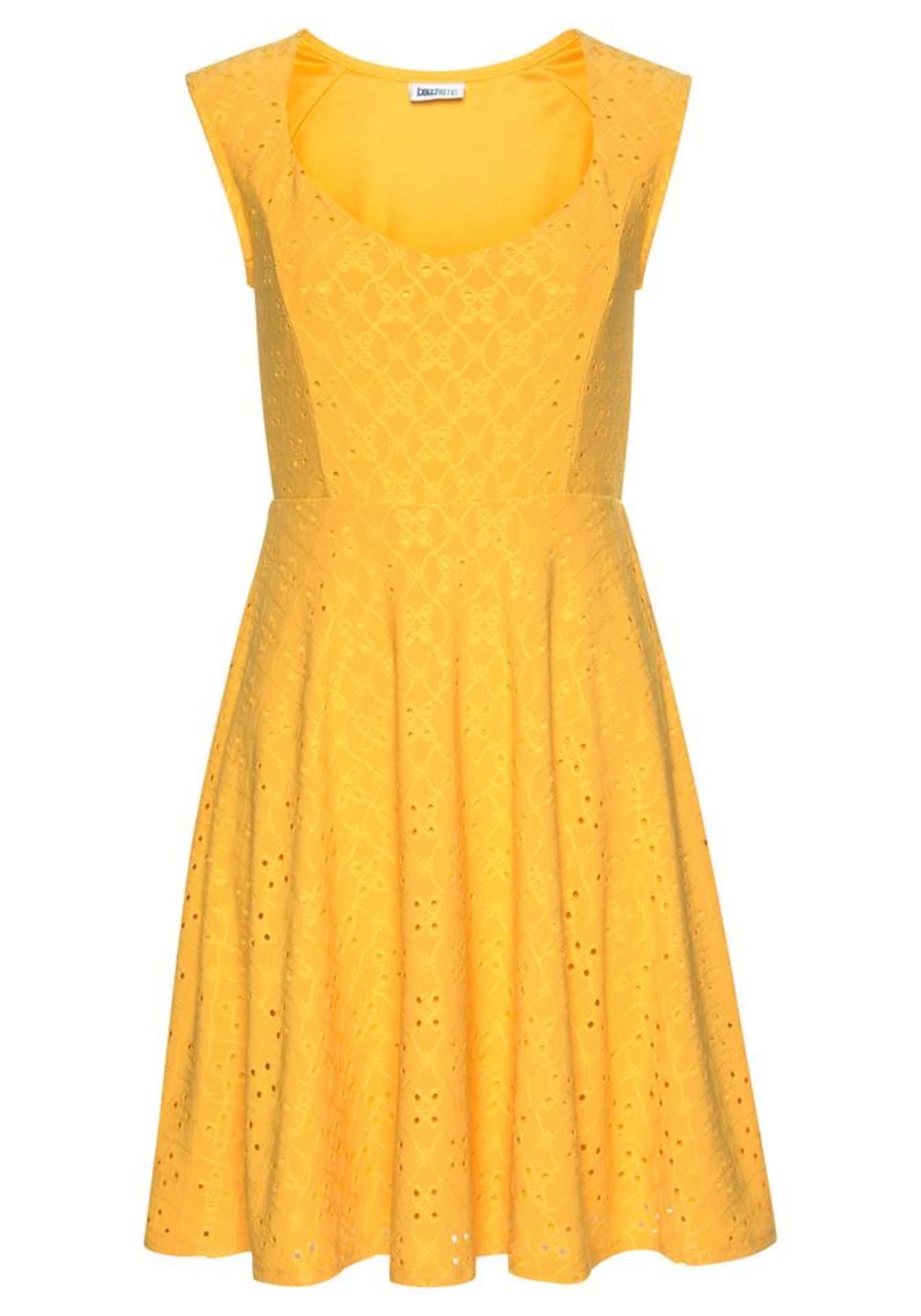 BEACH TIME Vasarinė suknelė geltona