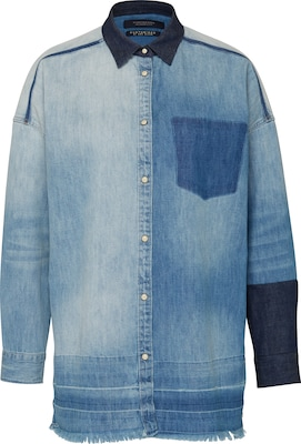 SCOTCH & SODA Jeans-Hemd 'Customised denim'
