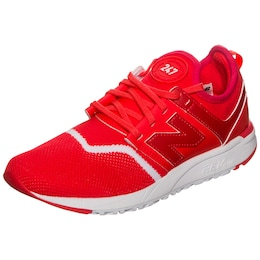 New Balance Damen WRL247-EC-B Sneaker Damen rot,weiß | 00191264147867