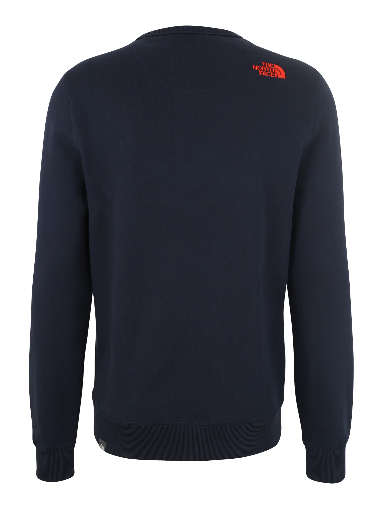 e11106dabff THE NORTH FACE, Heren Sweatshirt, donkerblauw / sinaasappel / wit