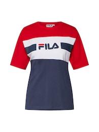 FILA Damen T-Shirt SHANNON blau,rot,weiß   04044185587365