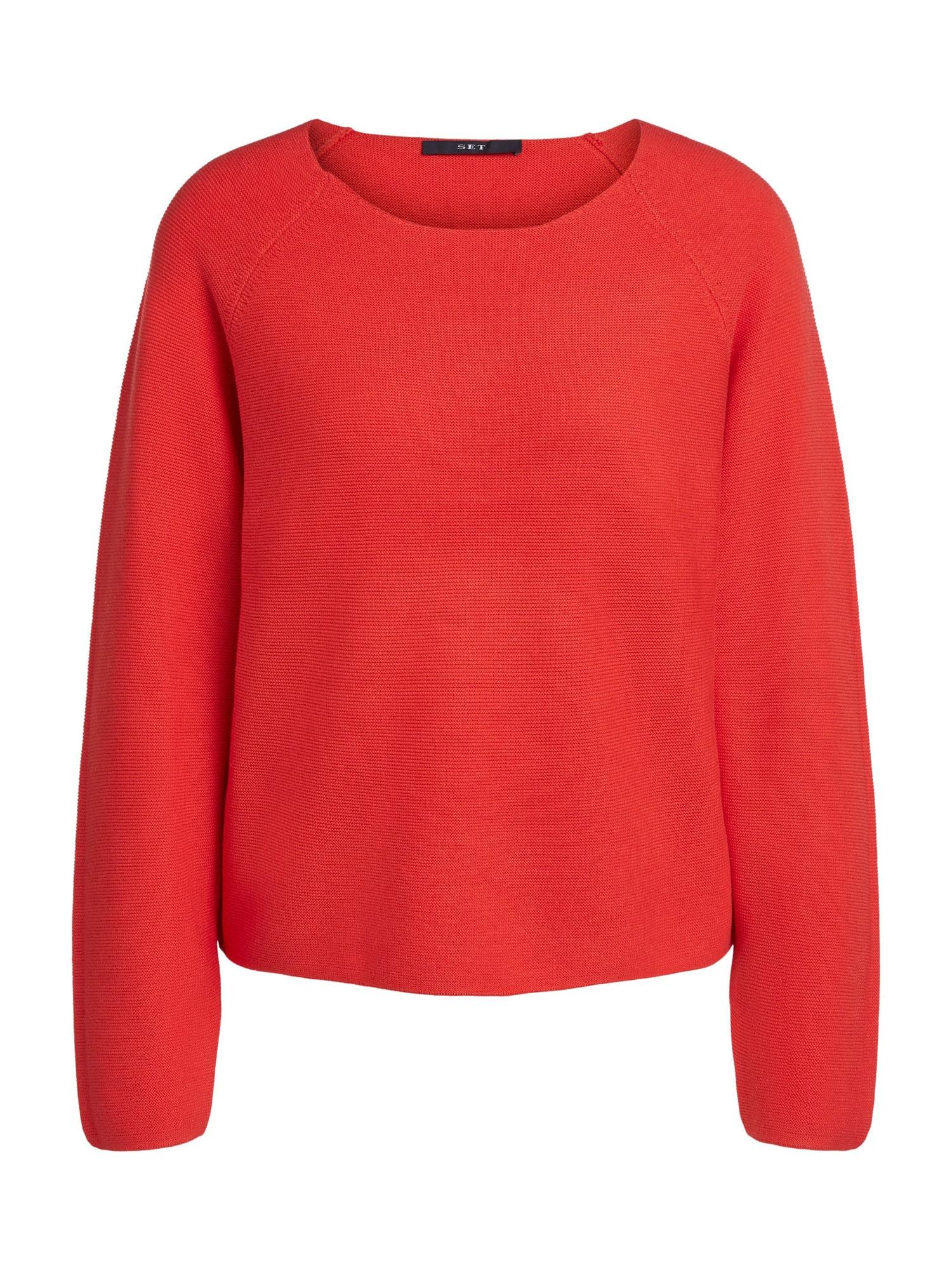 SET Megztinis raudona