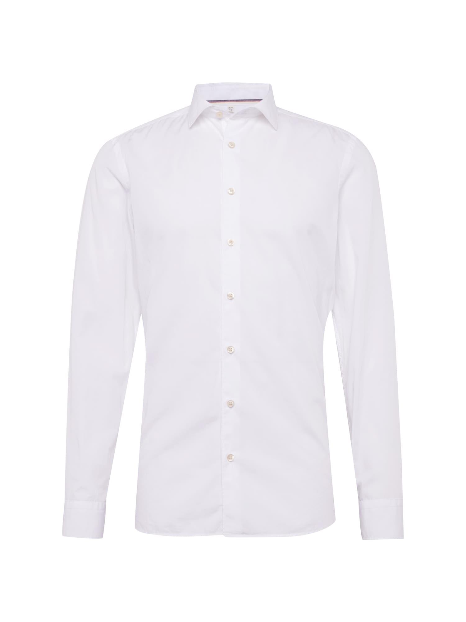 Společenská košile Level 5 Smart Business Uni bílá OLYMP
