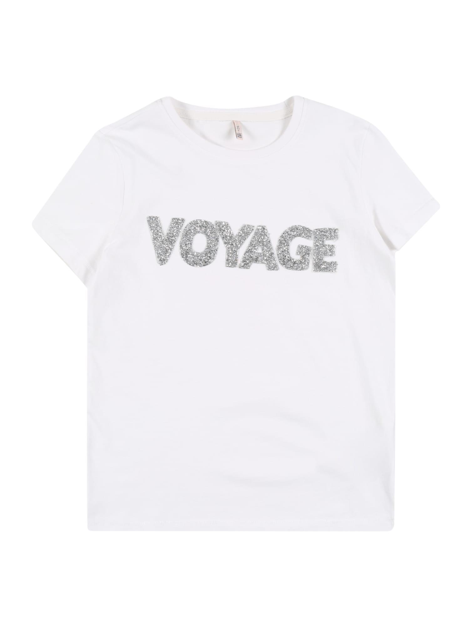 KIDS ONLY Marškinėliai 'KONVOYAGE' balta