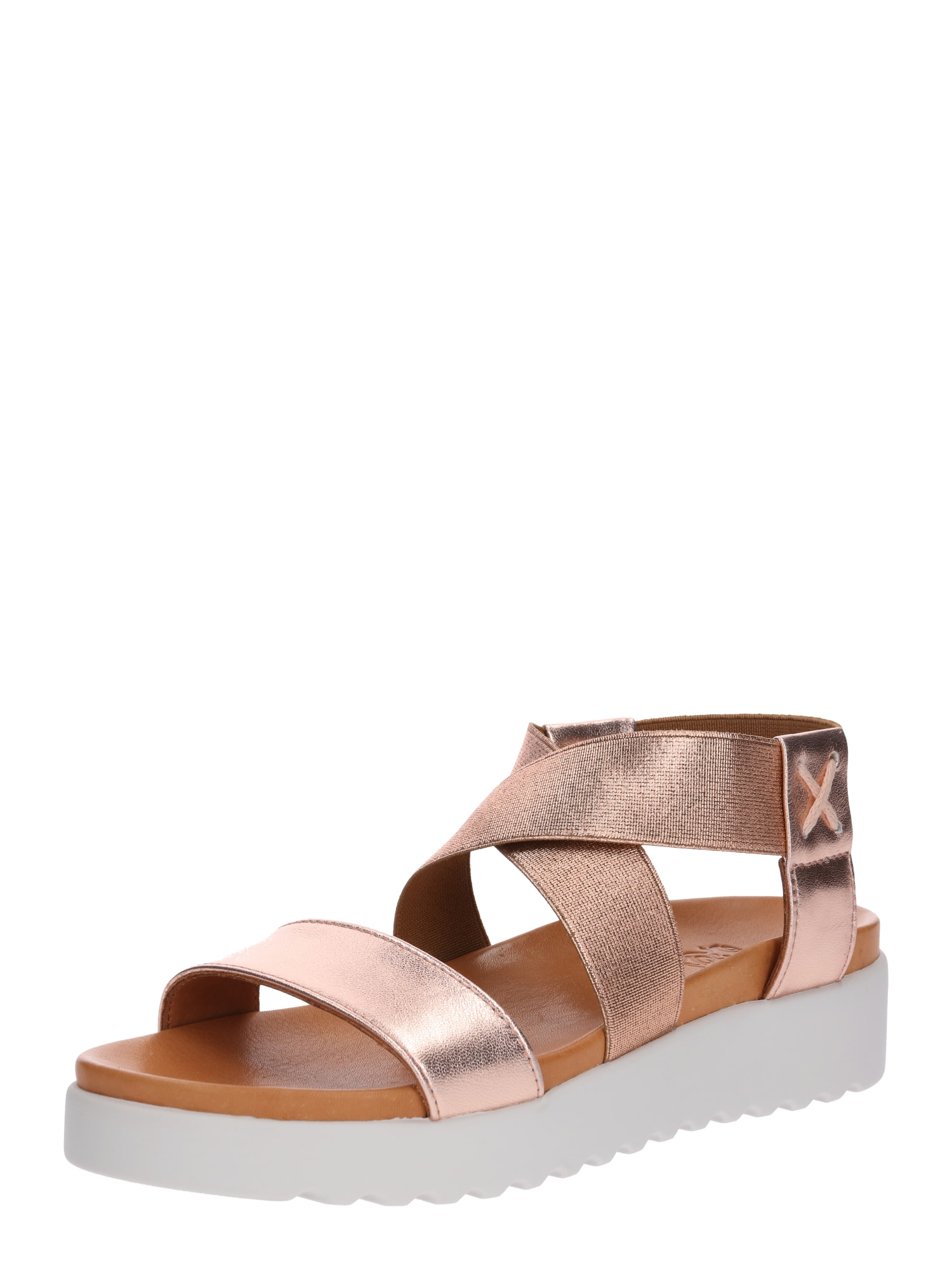 Páskové sandály Deia růžově zlatá Apple Of Eden