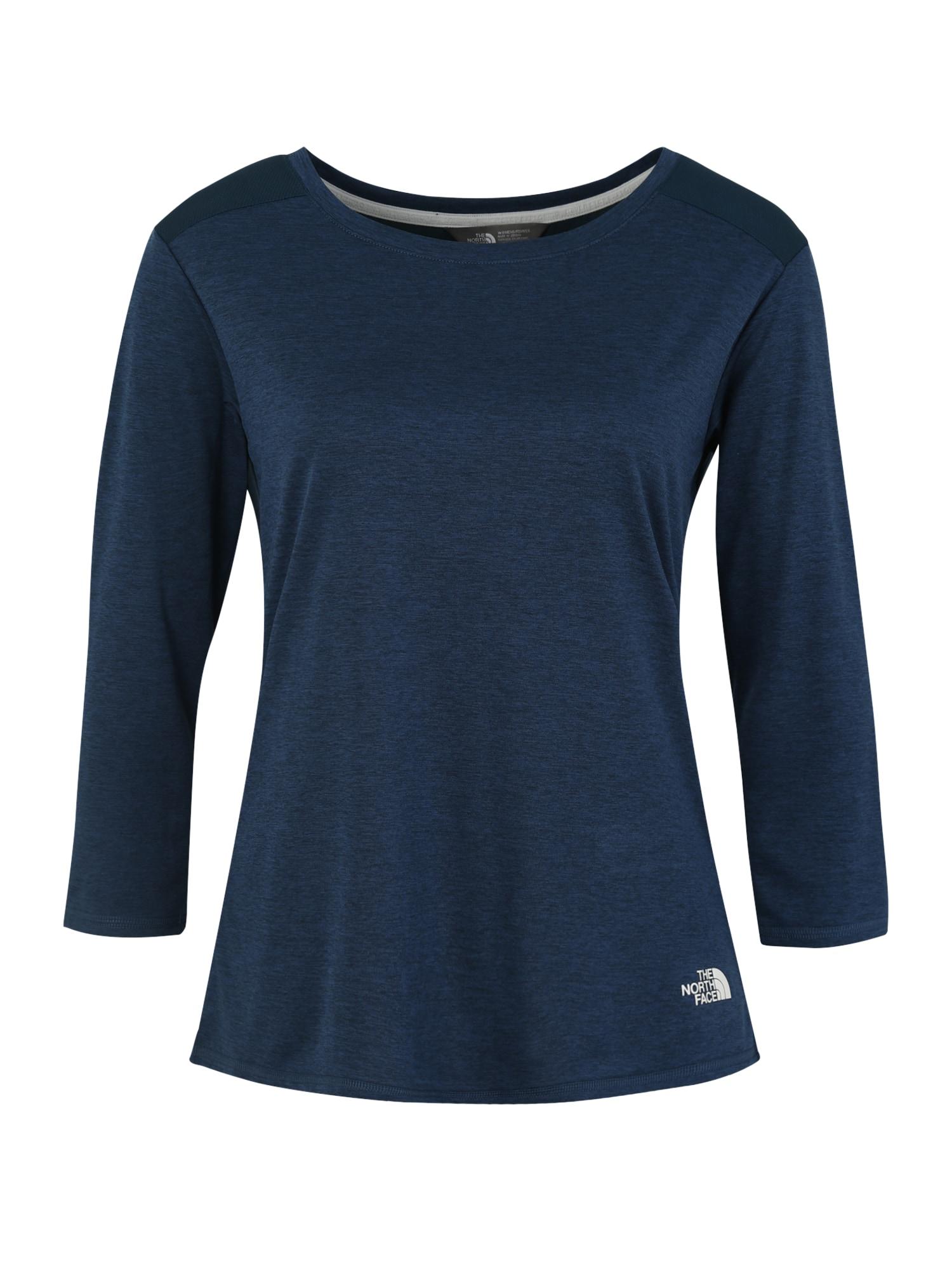 Funkční tričko INLUX modrá bílá THE NORTH FACE