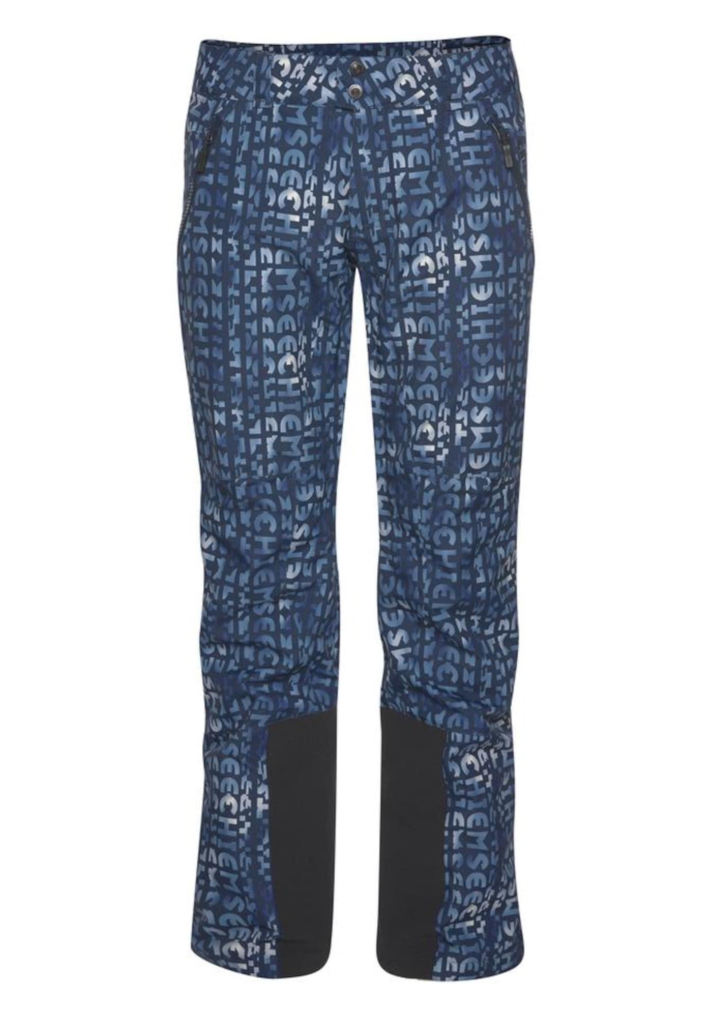 CHIEMSEE Sportinės kelnės tamsiai mėlyna jūros spalva / mišrios spalvos