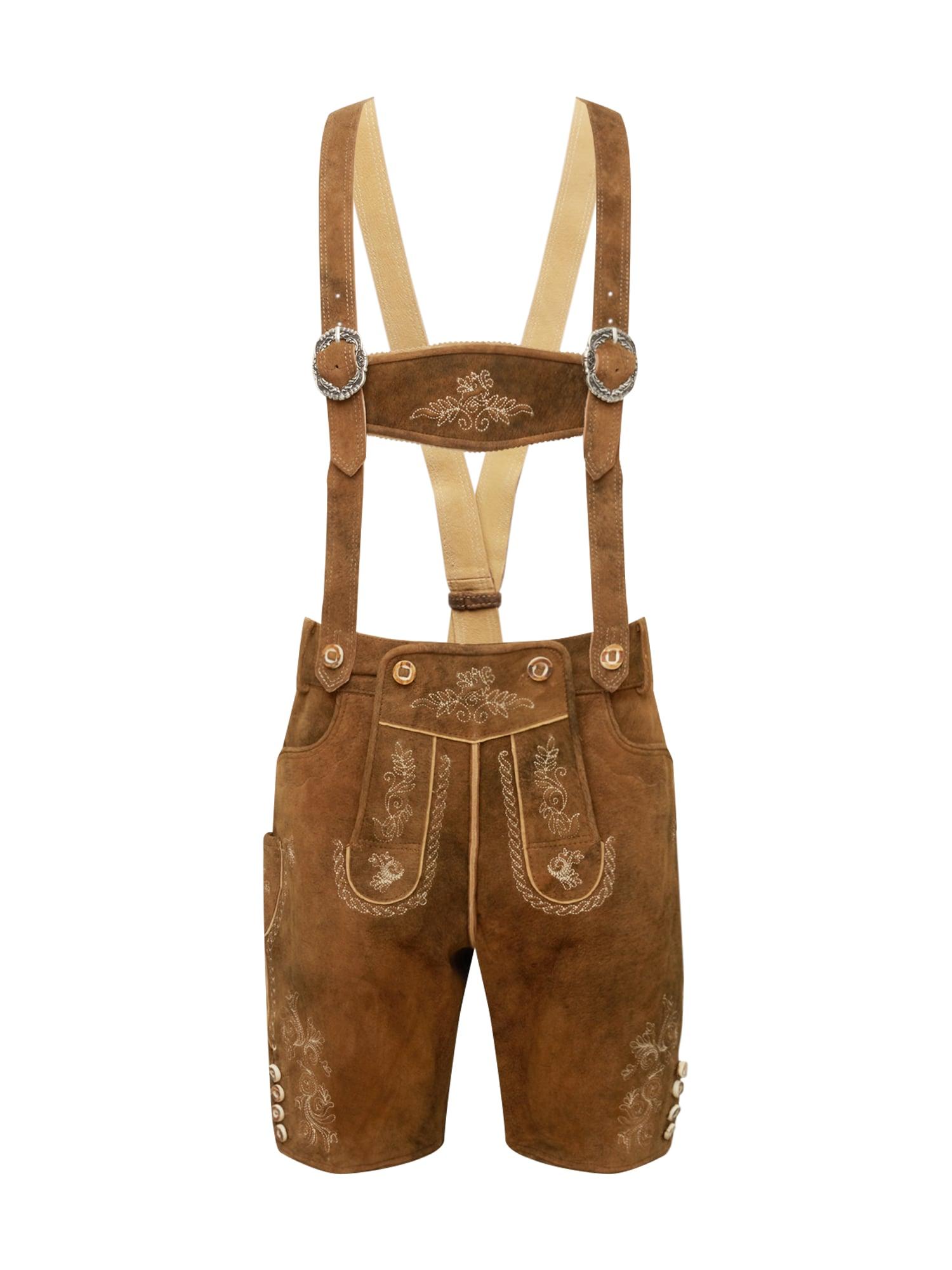 Krojové kalhoty Beppo3 hnědá STOCKERPOINT