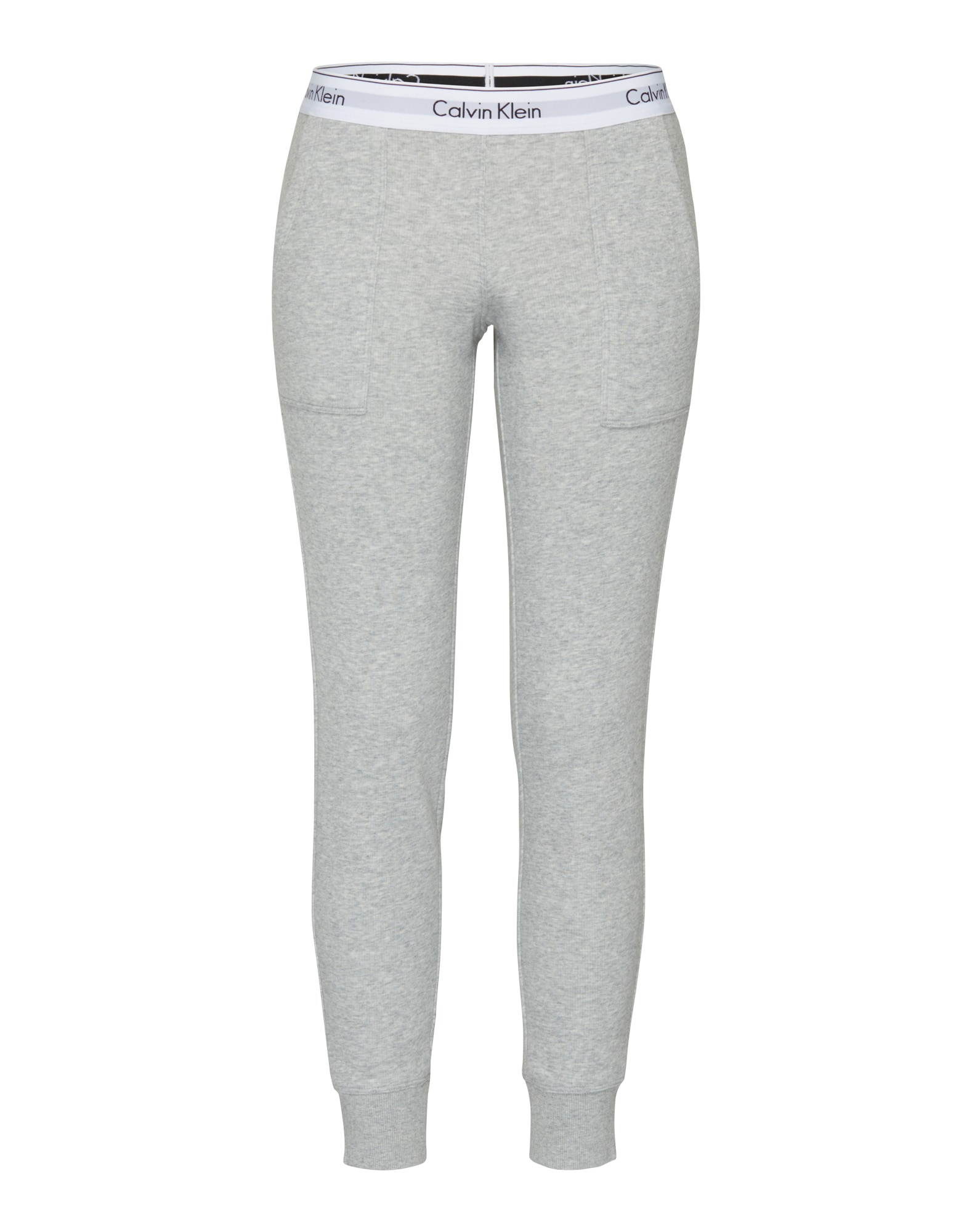 Calvin Klein Underwear Kelnės 'Bottom' margai pilka