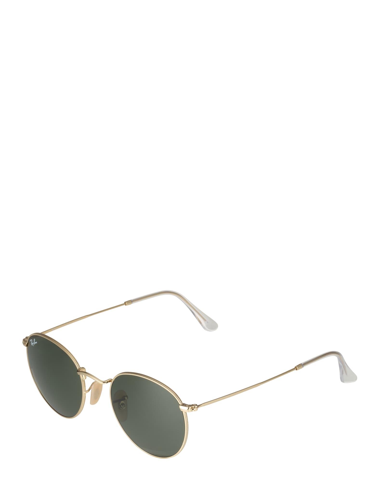 Sluneční brýle Round metal zlatá tmavě zelená Ray-Ban