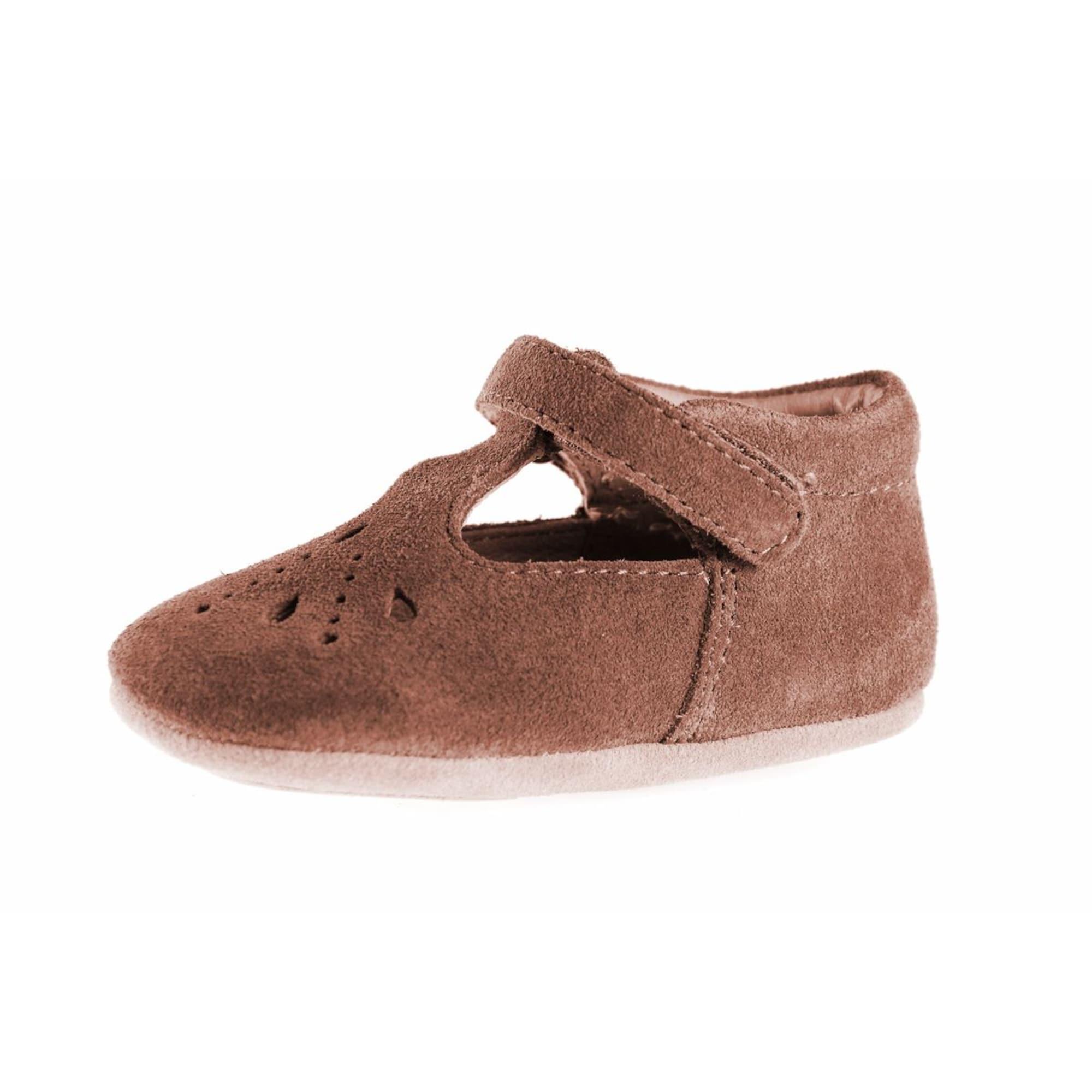 BISGAARD Pirmieji vaiko vaikščiojimo bateliai ruda