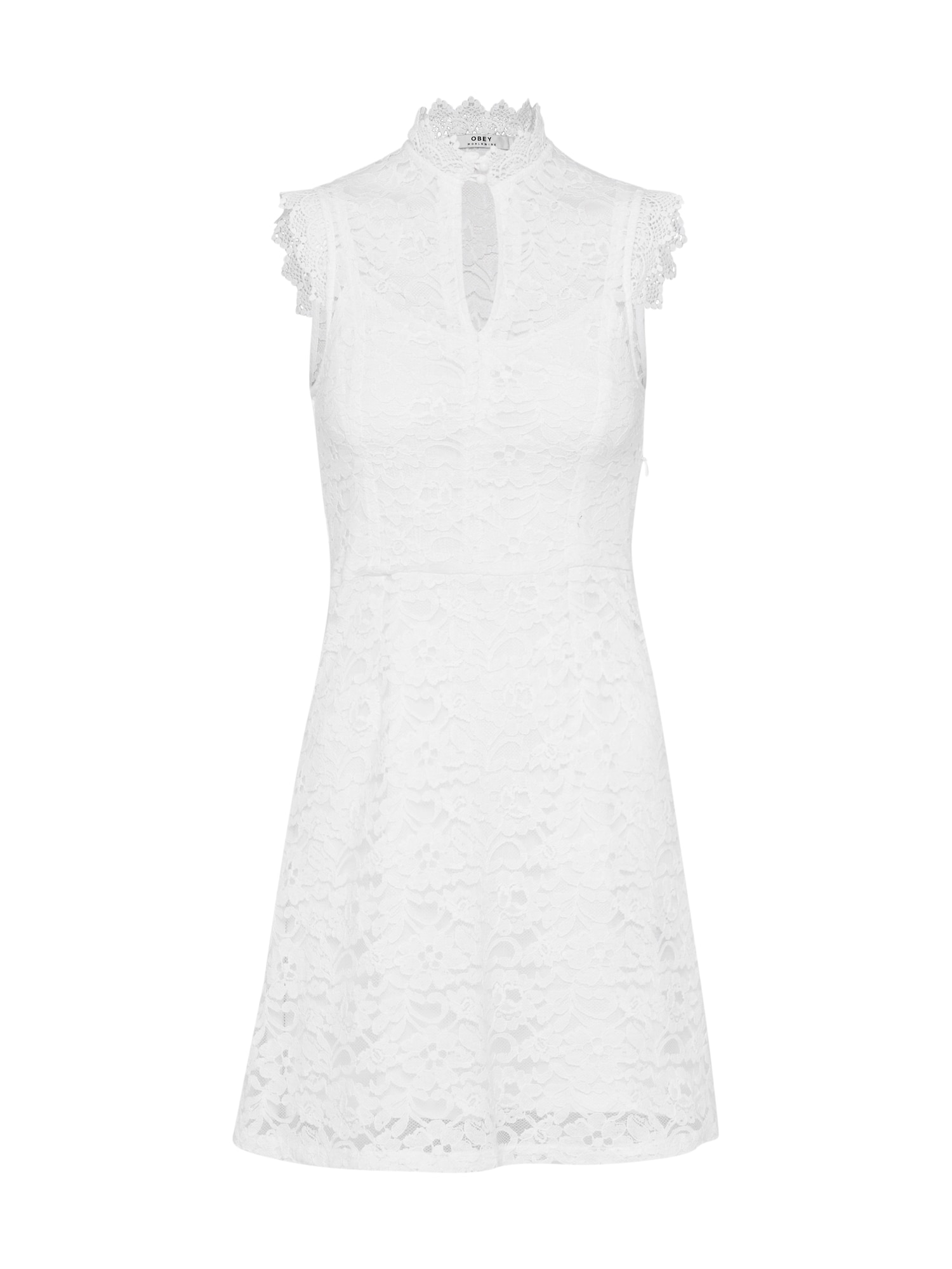 Koktejlové šaty RAPTURE bílá Obey
