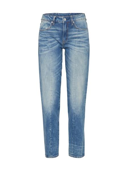 Hosen für Frauen - G STAR RAW 'Lanc 3D High Straight' Loosefit Jeans blau  - Onlineshop ABOUT YOU