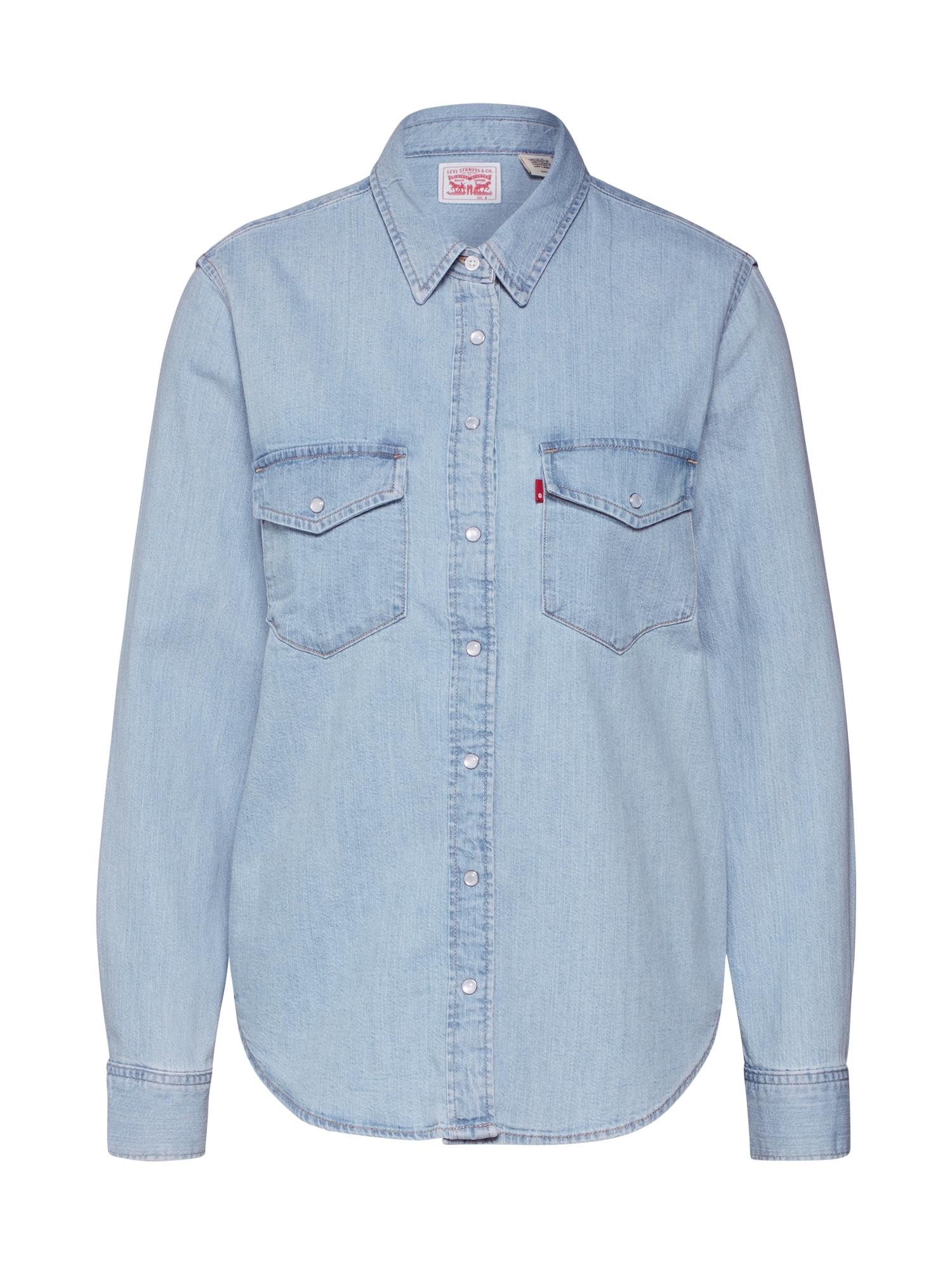 LEVI'S Palaidinė 'Essential Western' tamsiai (džinso) mėlyna
