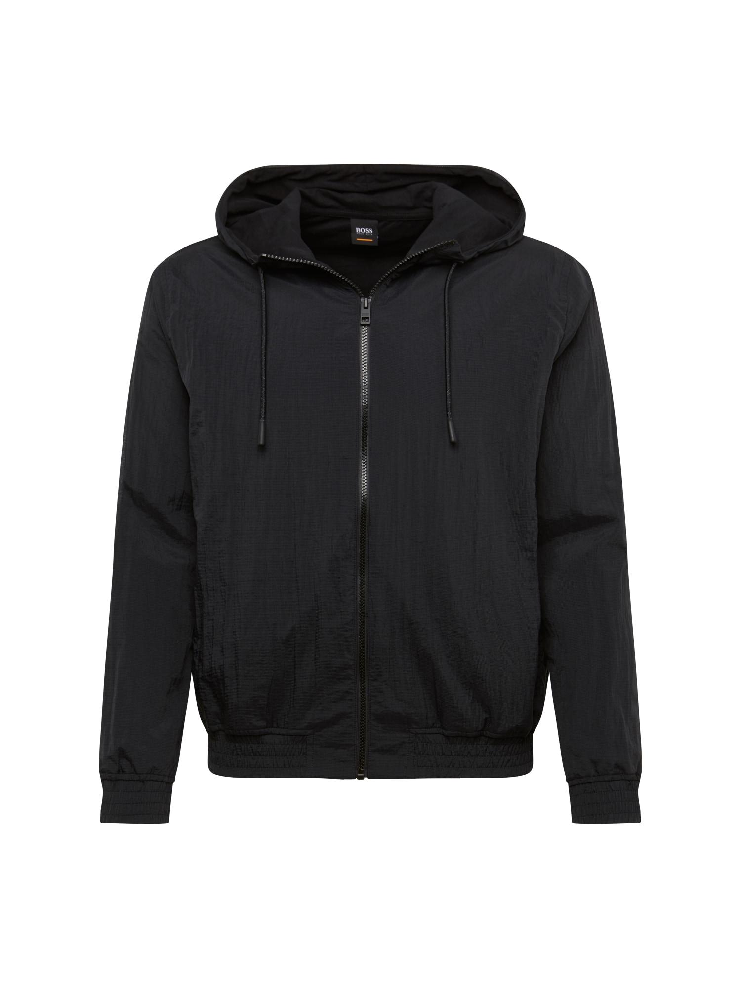 Přechodná bunda Zinc 10209297 01 černá BOSS