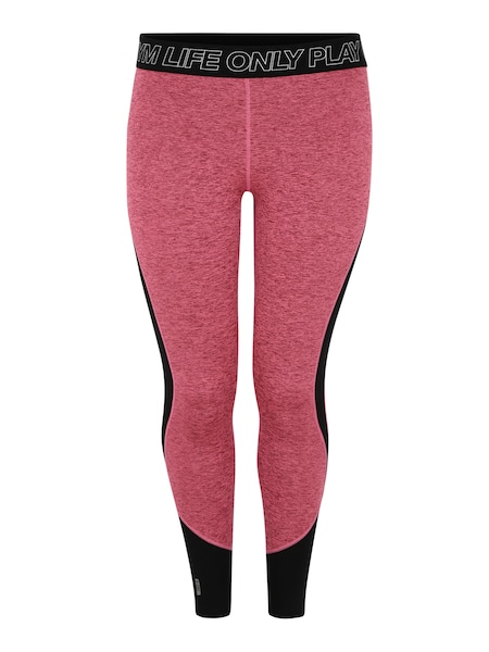 Hosen - Sport Hose 'JACEY' › Only Play Curvy › pink schwarz  - Onlineshop ABOUT YOU