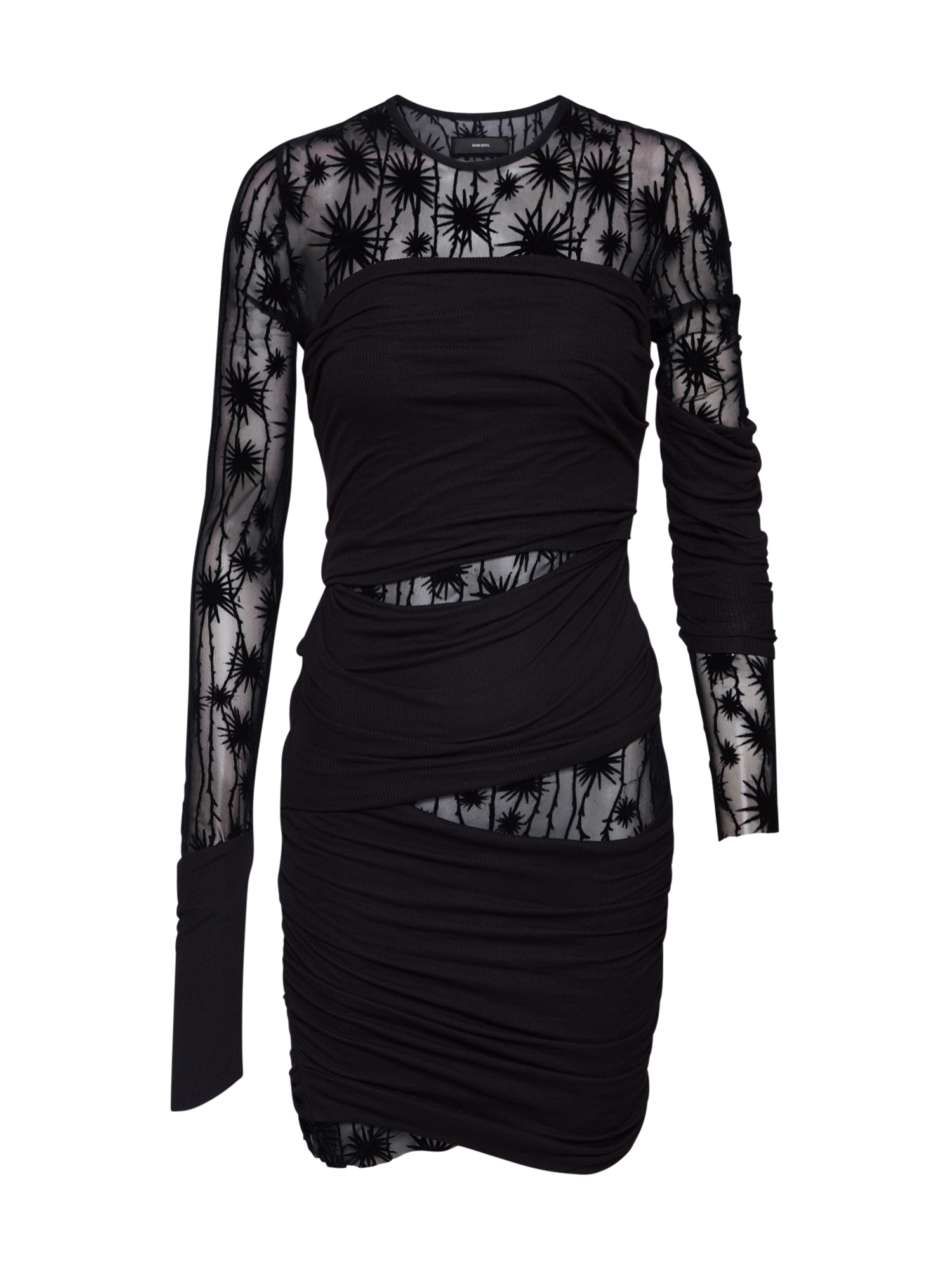 DIESEL Suknelė 'D-LARY DRESS' juoda