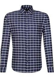 SEIDENSTICKER Herren City-Hemd Tailored blau,weiß | 04048869331909