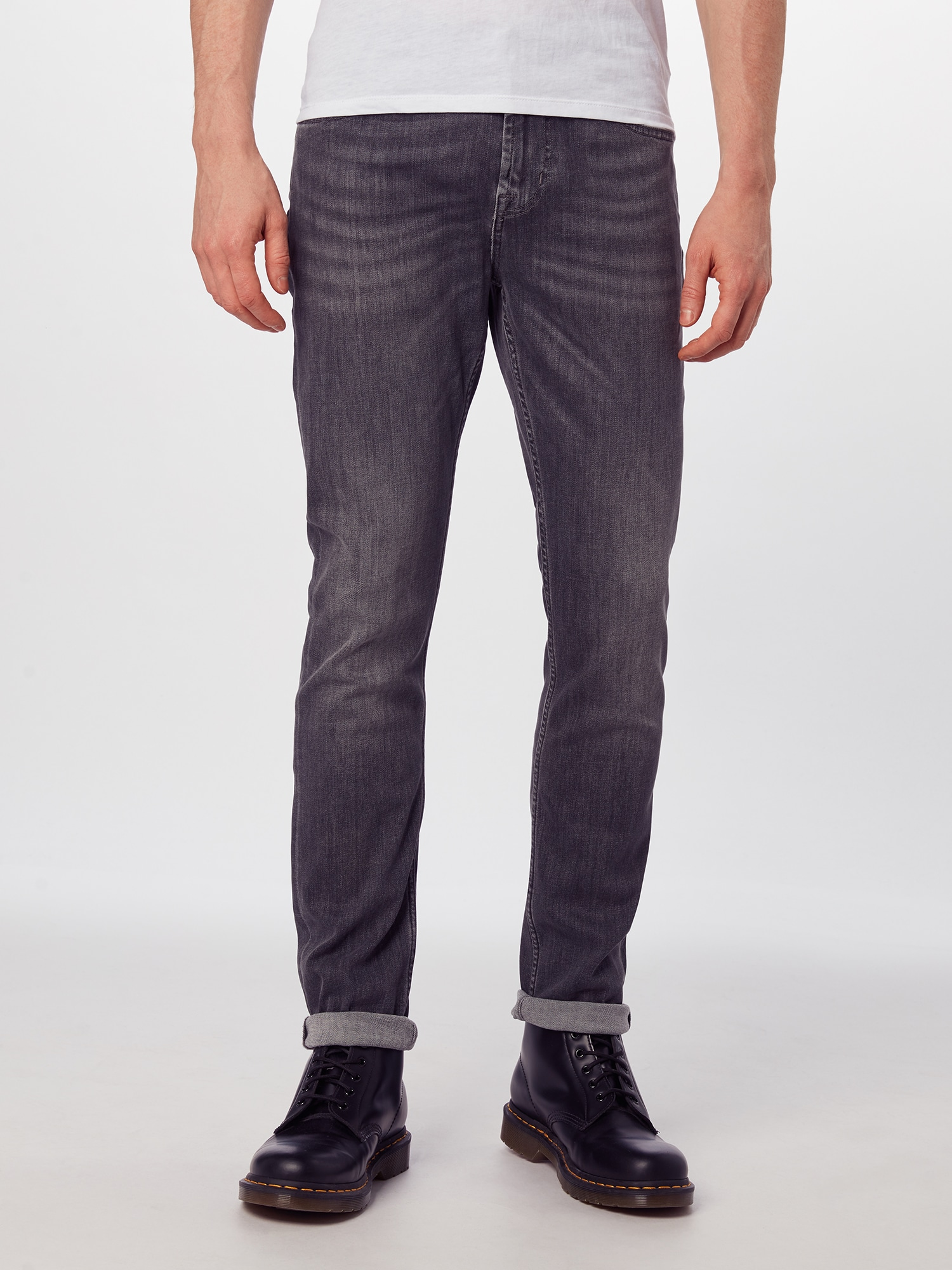 7 for all mankind Jeans 'RONNIE LUXE PERFORMANCE'  grå denim