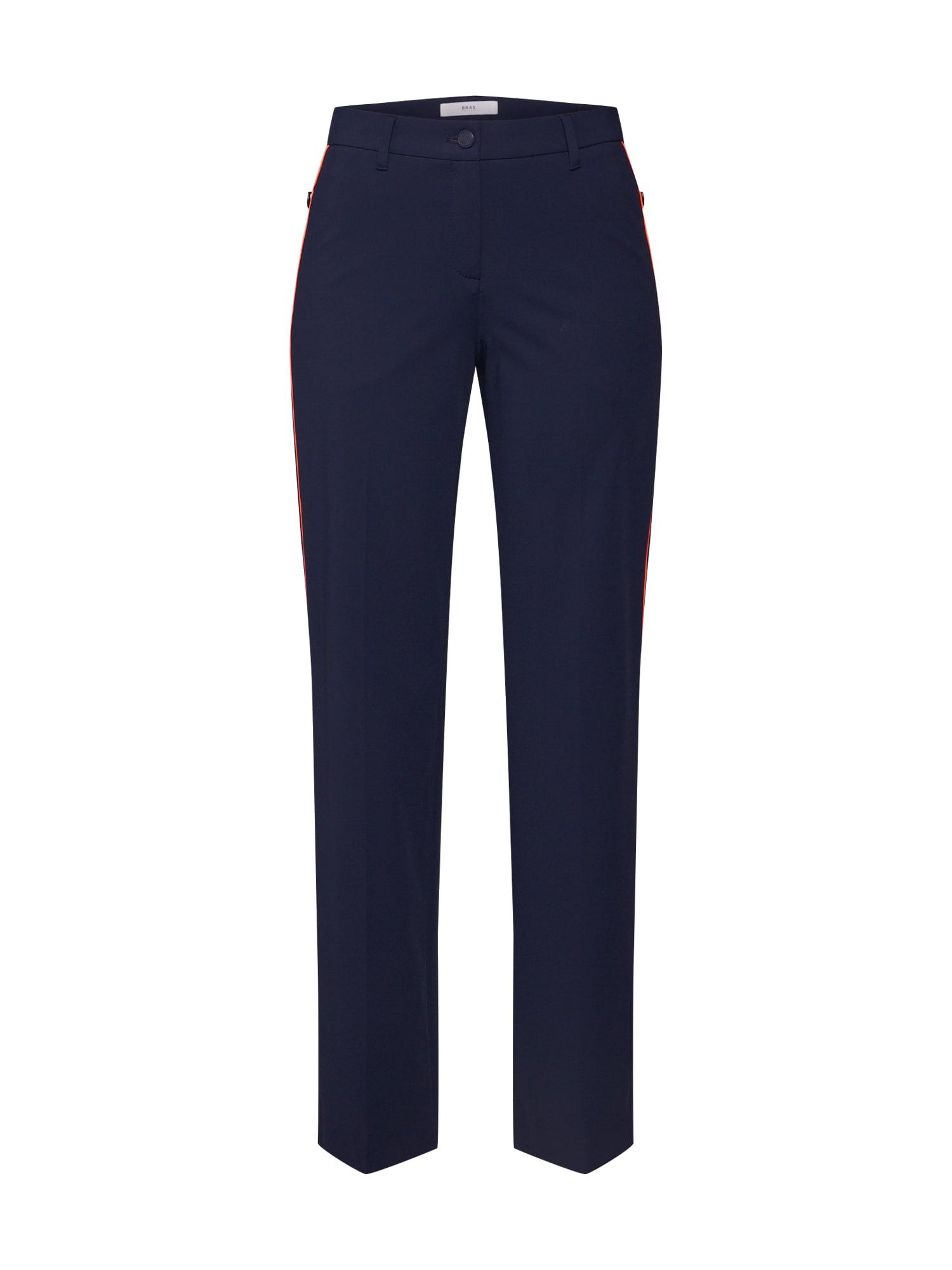 BRAX Chino stiliaus kelnės 'MILANO' tamsiai mėlyna / tamsiai mėlyna