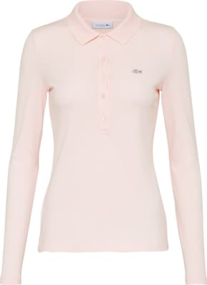 LACOSTE Polo-Hemd mit Label-Applikation
