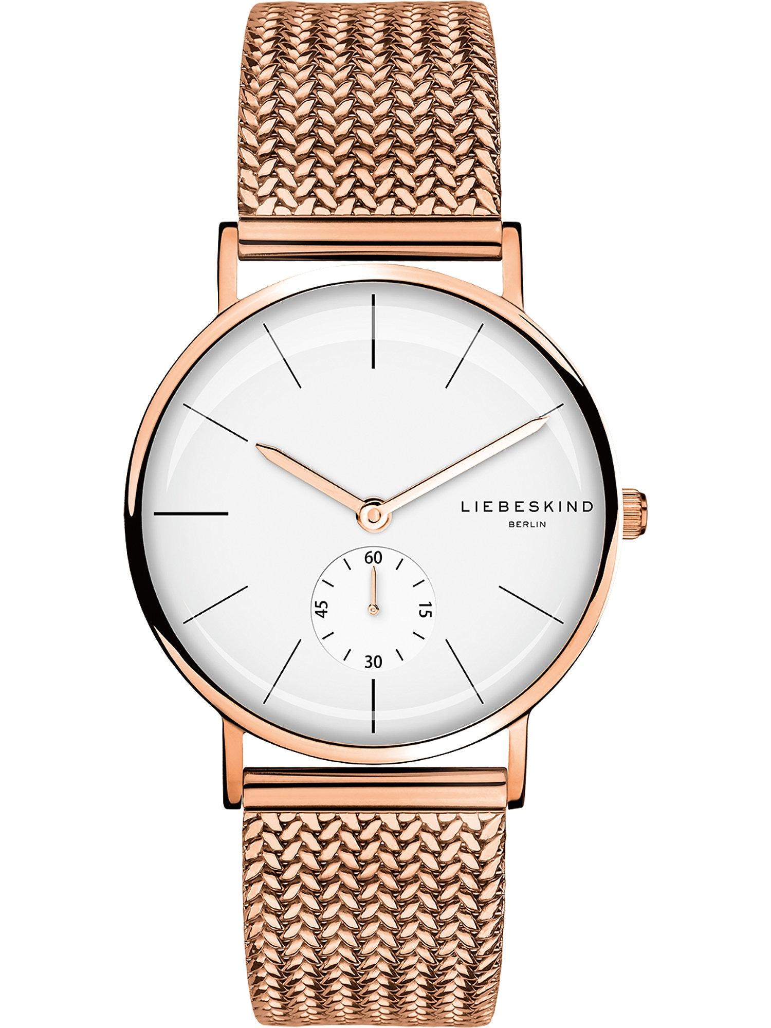 Quarzuhr   Uhren > Quarzuhren   liebeskind berlin