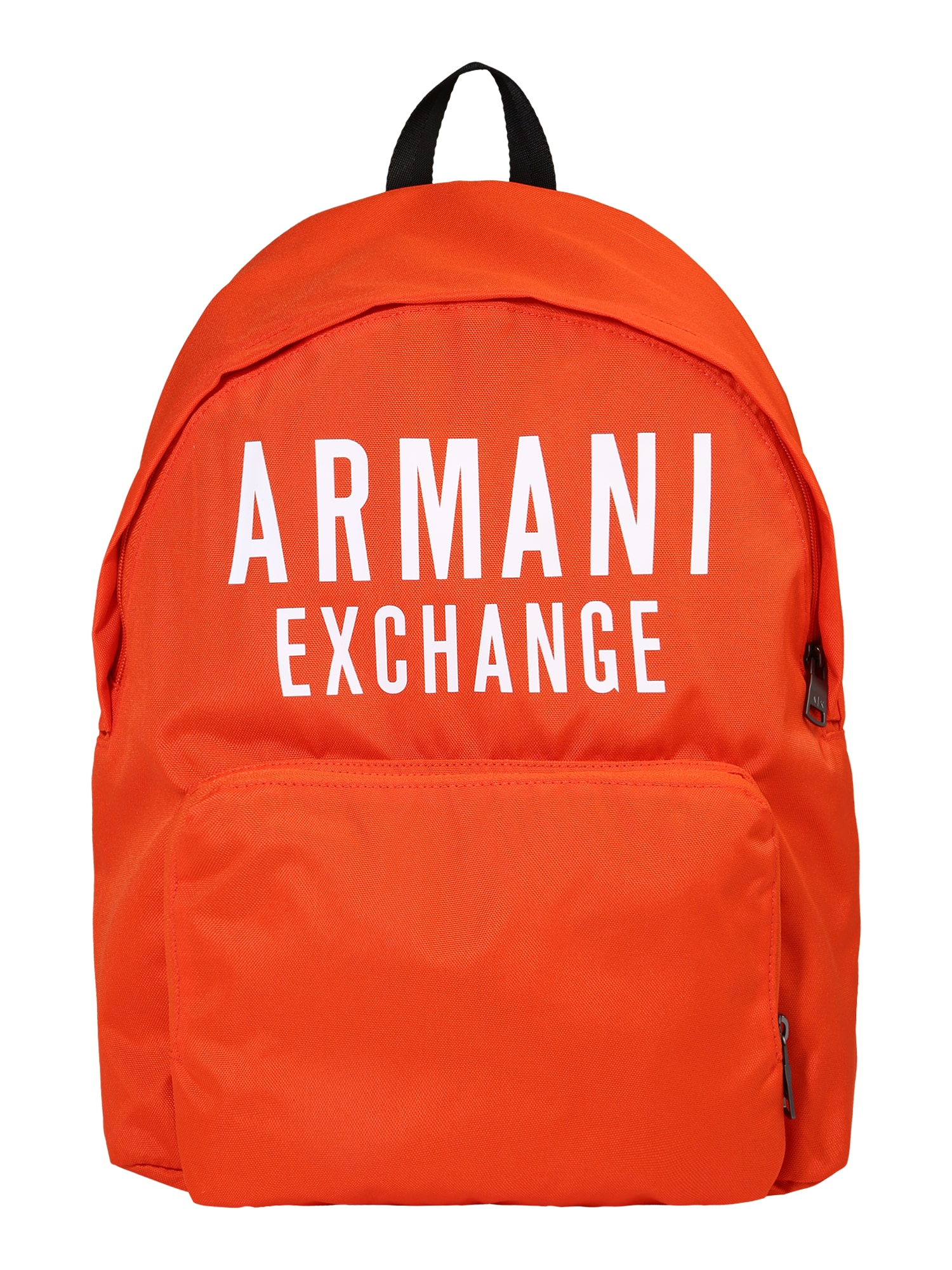 ARMANI EXCHANGE Kuprinė oranžinė / balta
