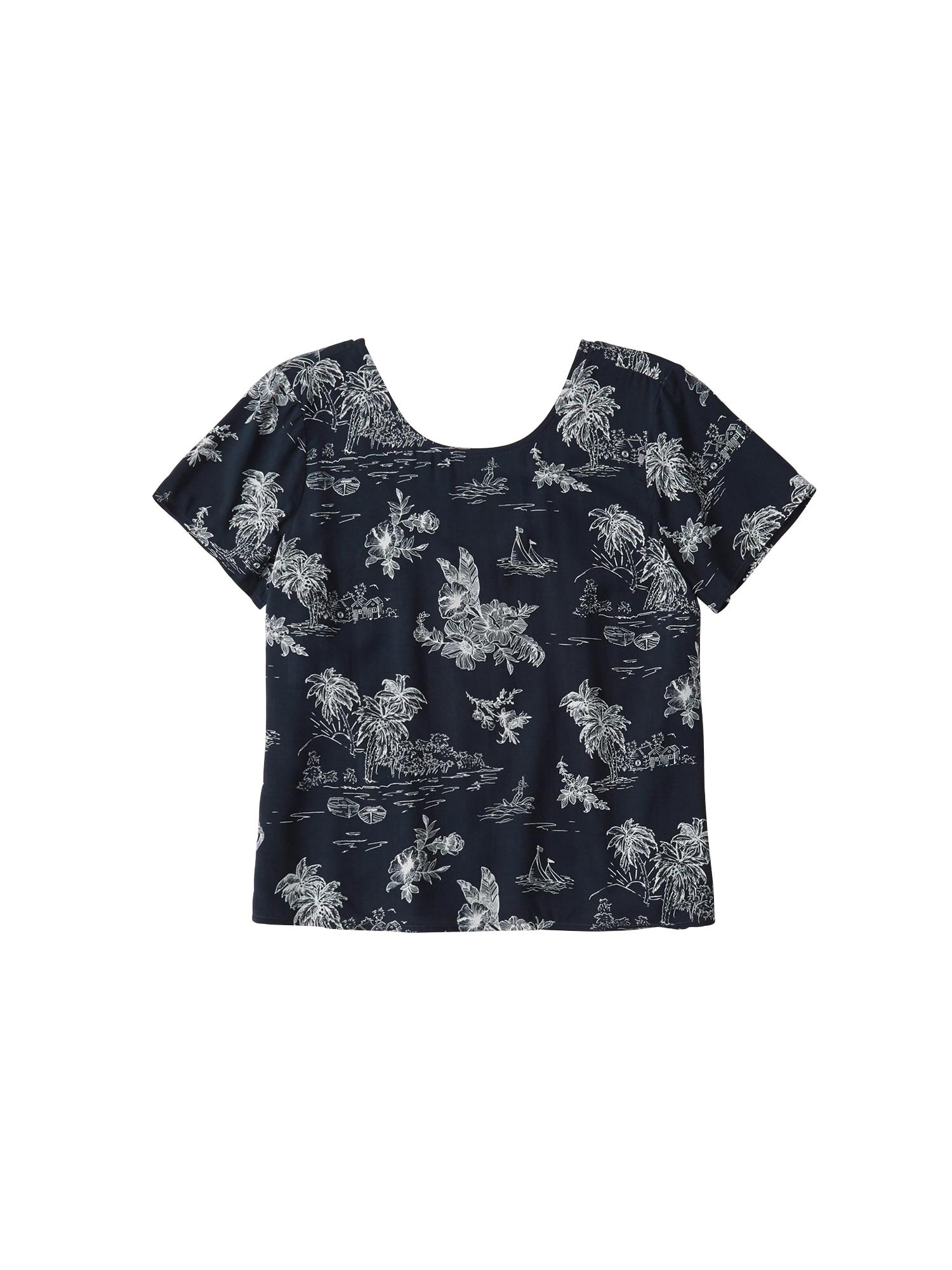 Abercrombie & Fitch Marškinėliai mėlyna