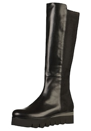 Damen GADEA Stiefel schwarz   08433656322639