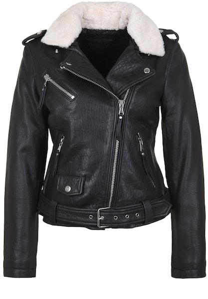 Jacken für Frauen - BE EDGY Lederjacke 'BELANA' schwarz  - Onlineshop ABOUT YOU