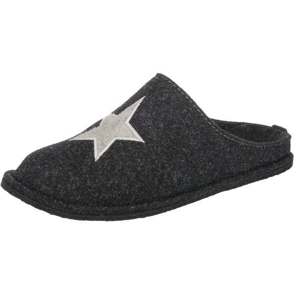 Hausschuhe für Frauen - JANE KLAIN Pantoffeln hellgrau dunkelgrau silber  - Onlineshop ABOUT YOU