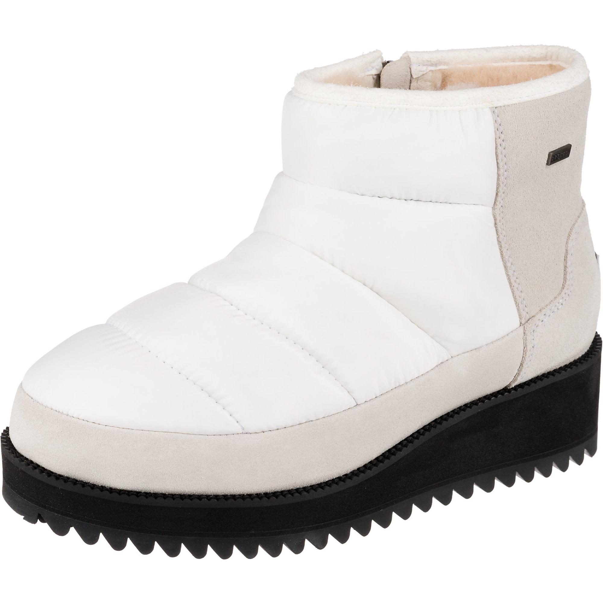 UGG Sniego batai balta / smėlio