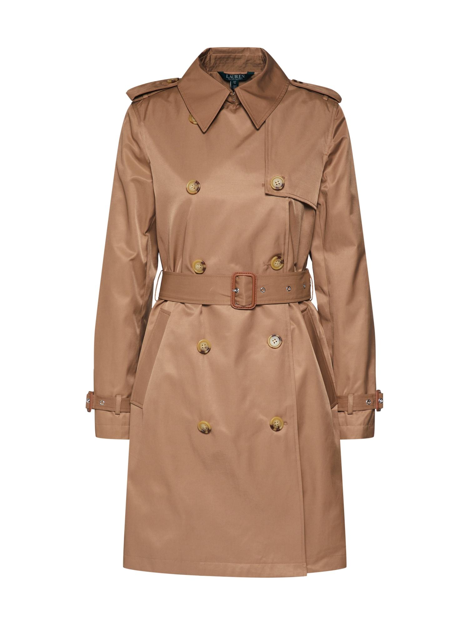 Lauren Ralph Lauren Rudeninis-žieminis paltas smėlio