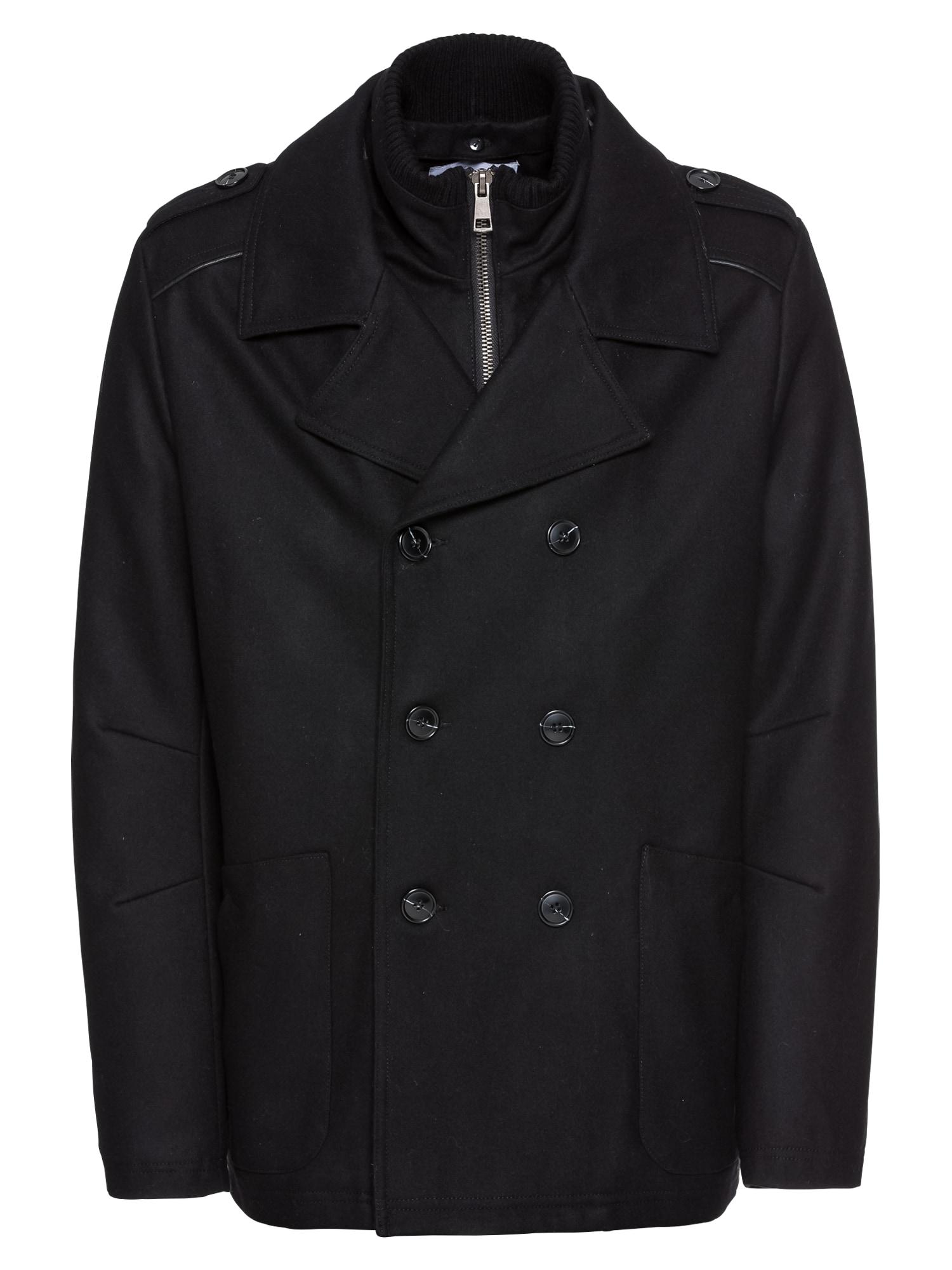 Zimní bunda Dorian černá ABOUT YOU