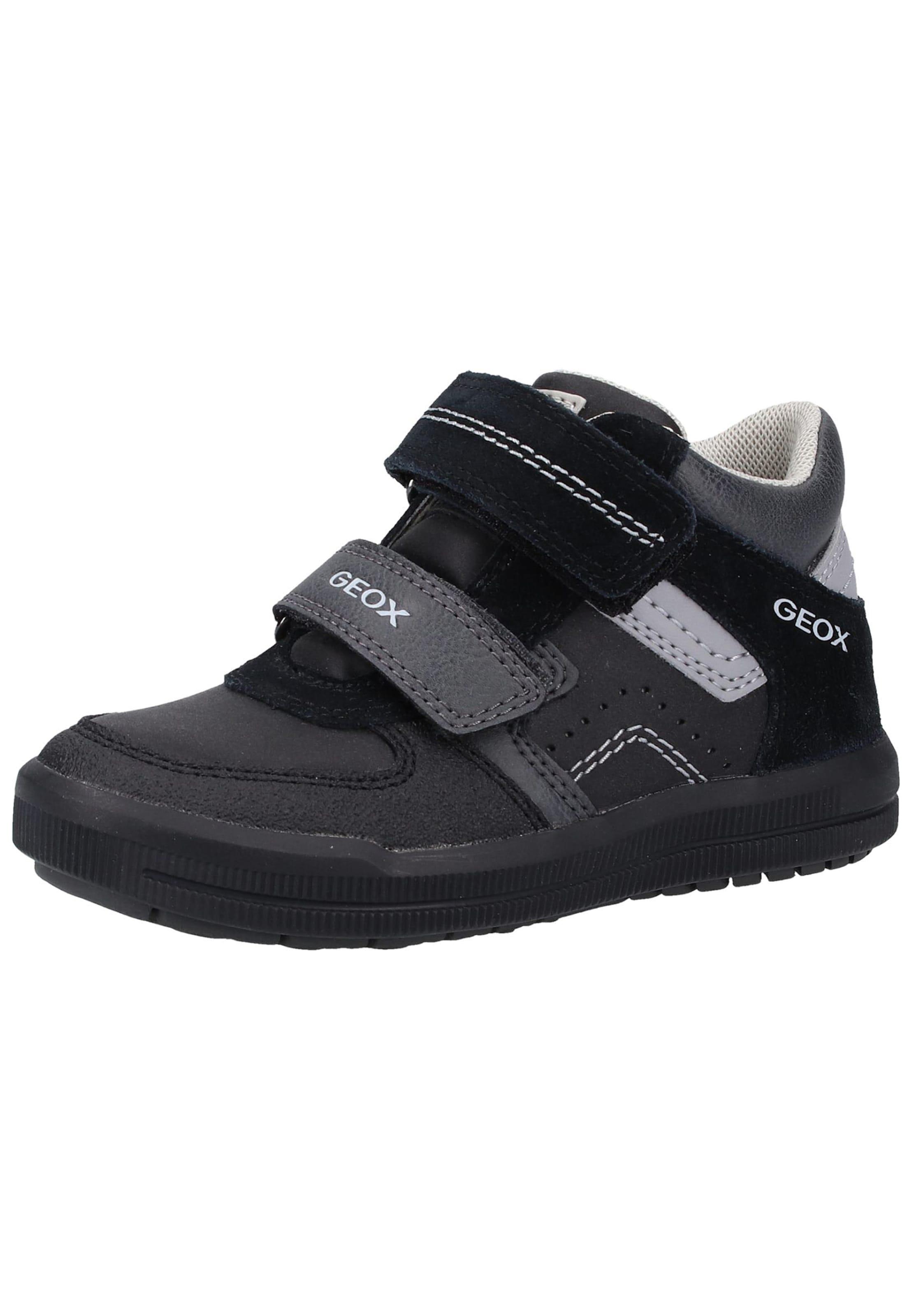 Jungen,  Kinder,  Kinder Geox Sneaker aqua,  blau,  blau, bunt,  mehrfarbig, grau,  schwarz, khaki | 08054730226478