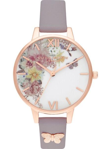 Uhren für Frauen - Uhr 'Garden' › Olivia Burton › rosegold flieder mischfarben  - Onlineshop ABOUT YOU