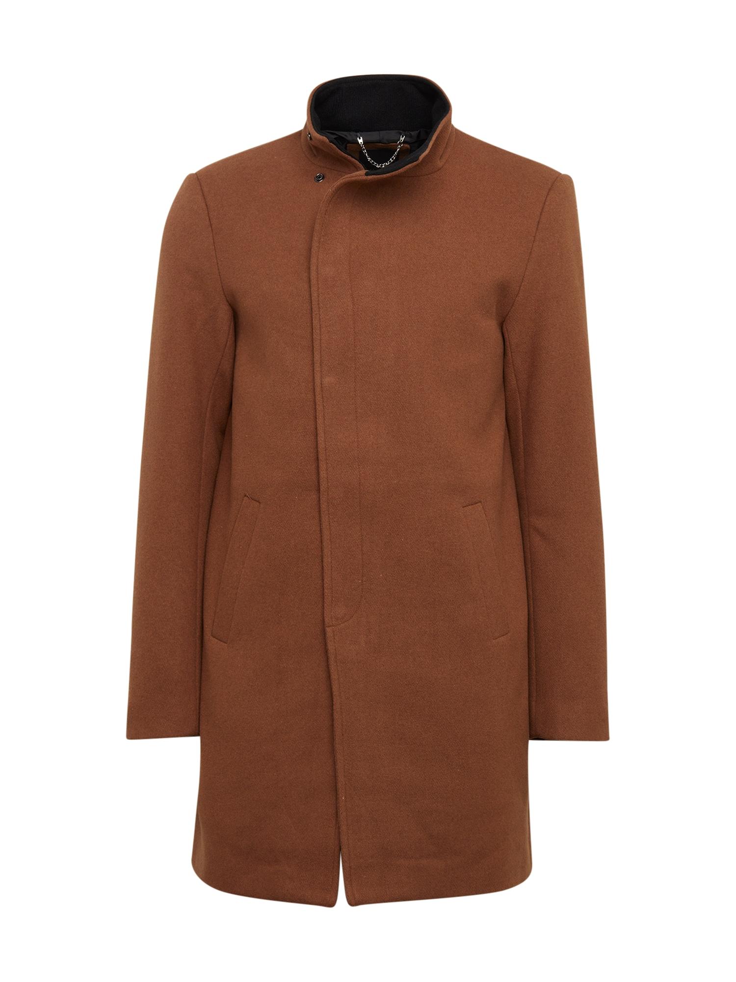 Only & Sons Rudeninis-žieminis paltas 'OSCAR WOOL COAT' ruda