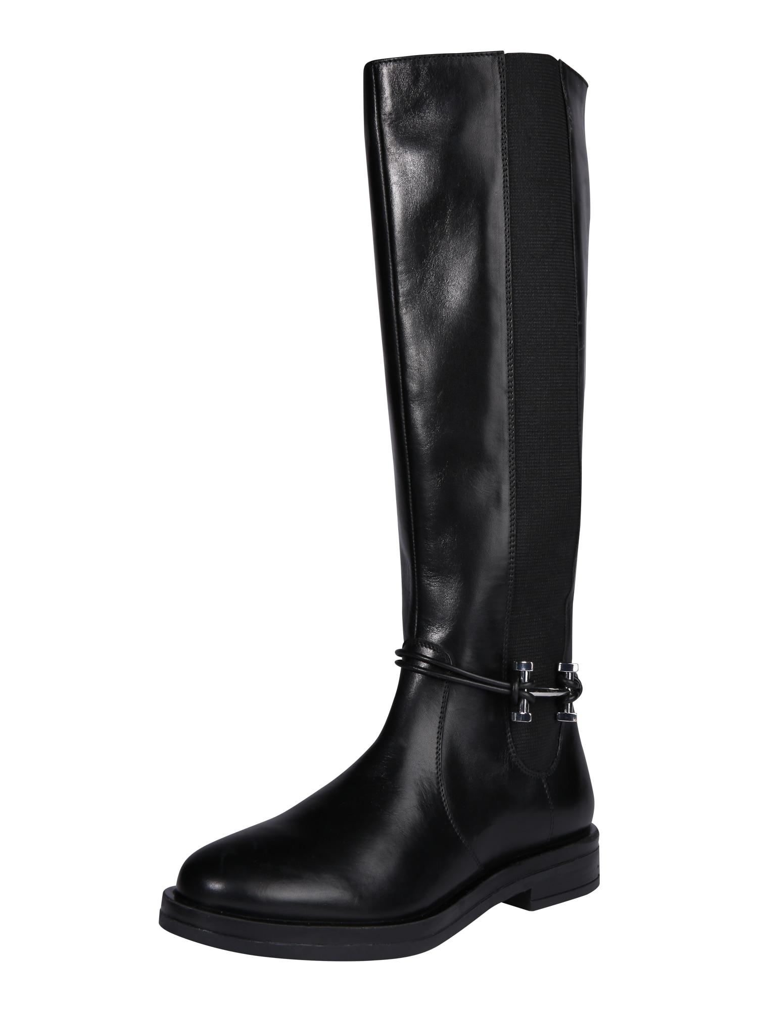 ABOUT YOU Auliniai batai su kulniuku 'Gina' juoda