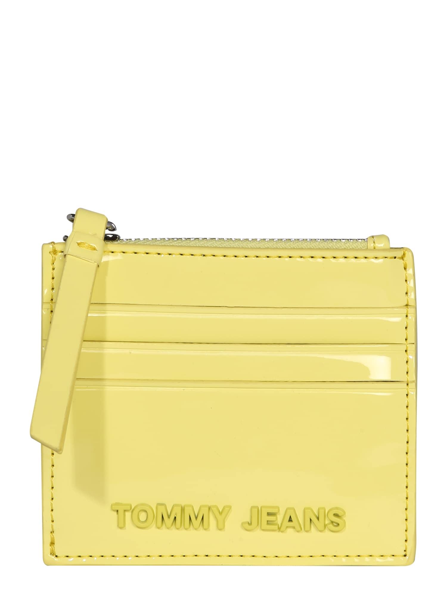 Tommy Jeans Piniginė žaliosios citrinos spalva