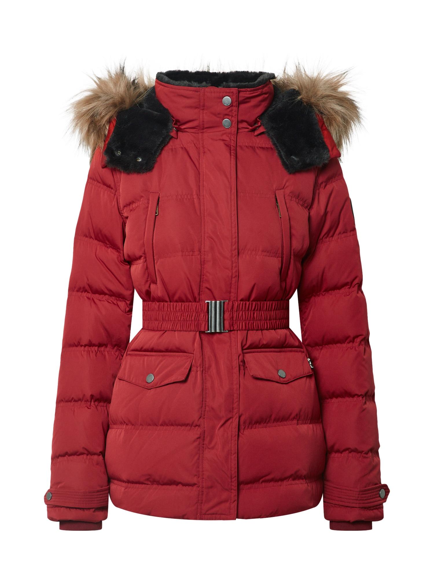 Pepe Jeans Zimní bunda 'Almah'  červená