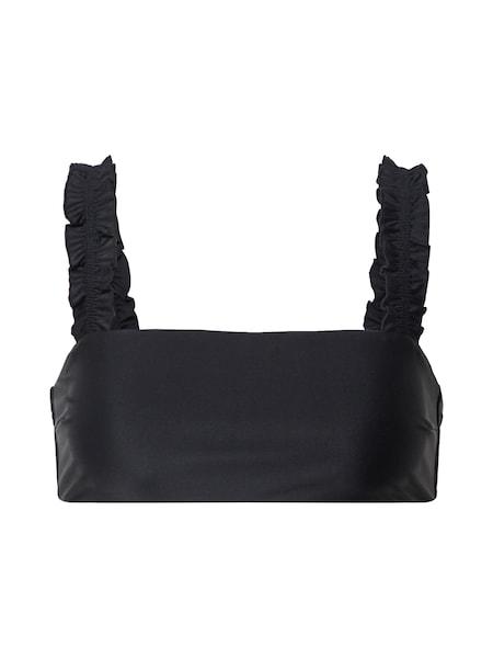 Bademode - Bikinitop 'S TROPICAL RUFFLE TOP ' › CATWALK JUNKIE › schwarz  - Onlineshop ABOUT YOU