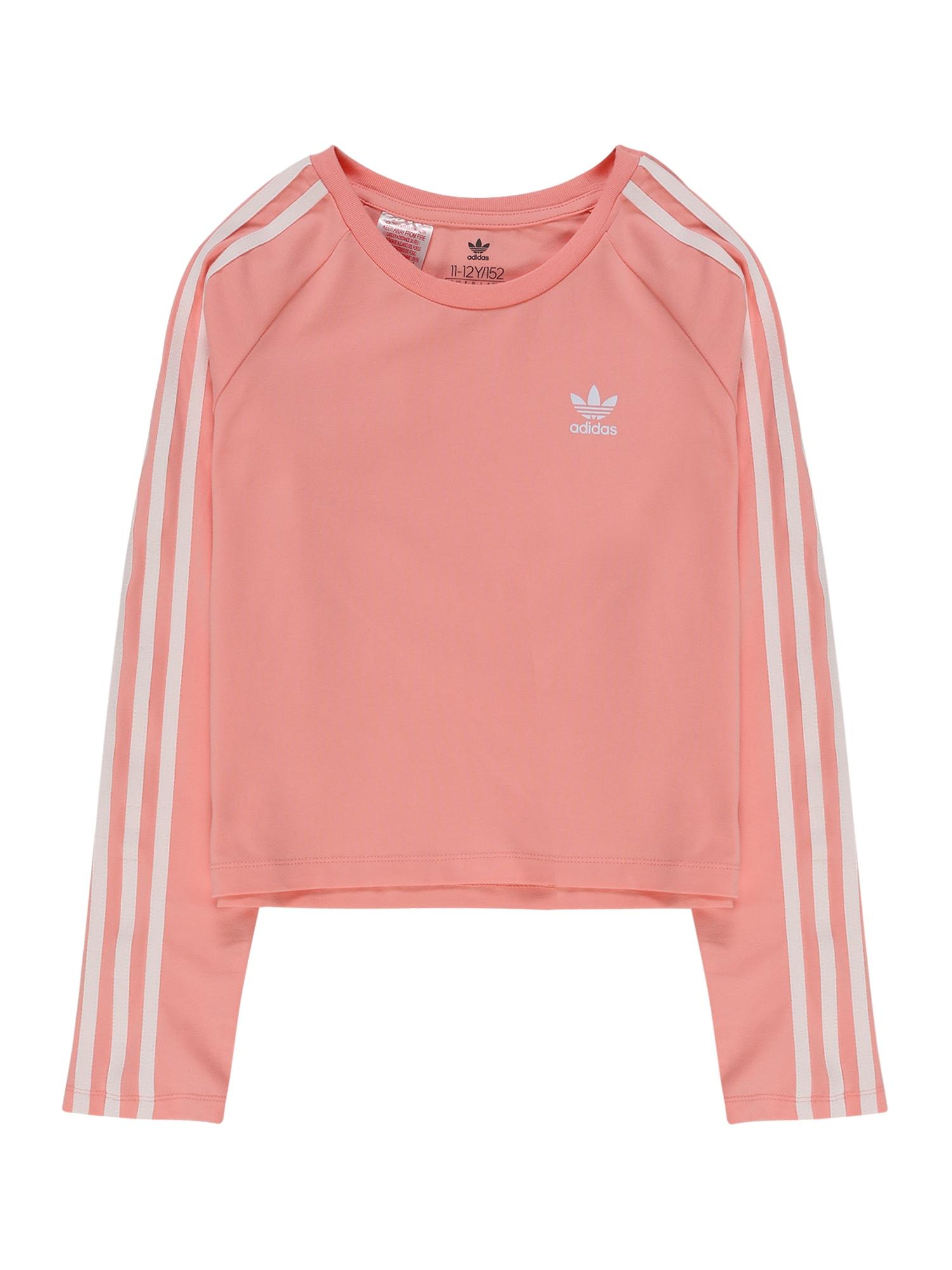 ADIDAS ORIGINALS Sportiniai marškinėliai '3STRIPES' rožinė