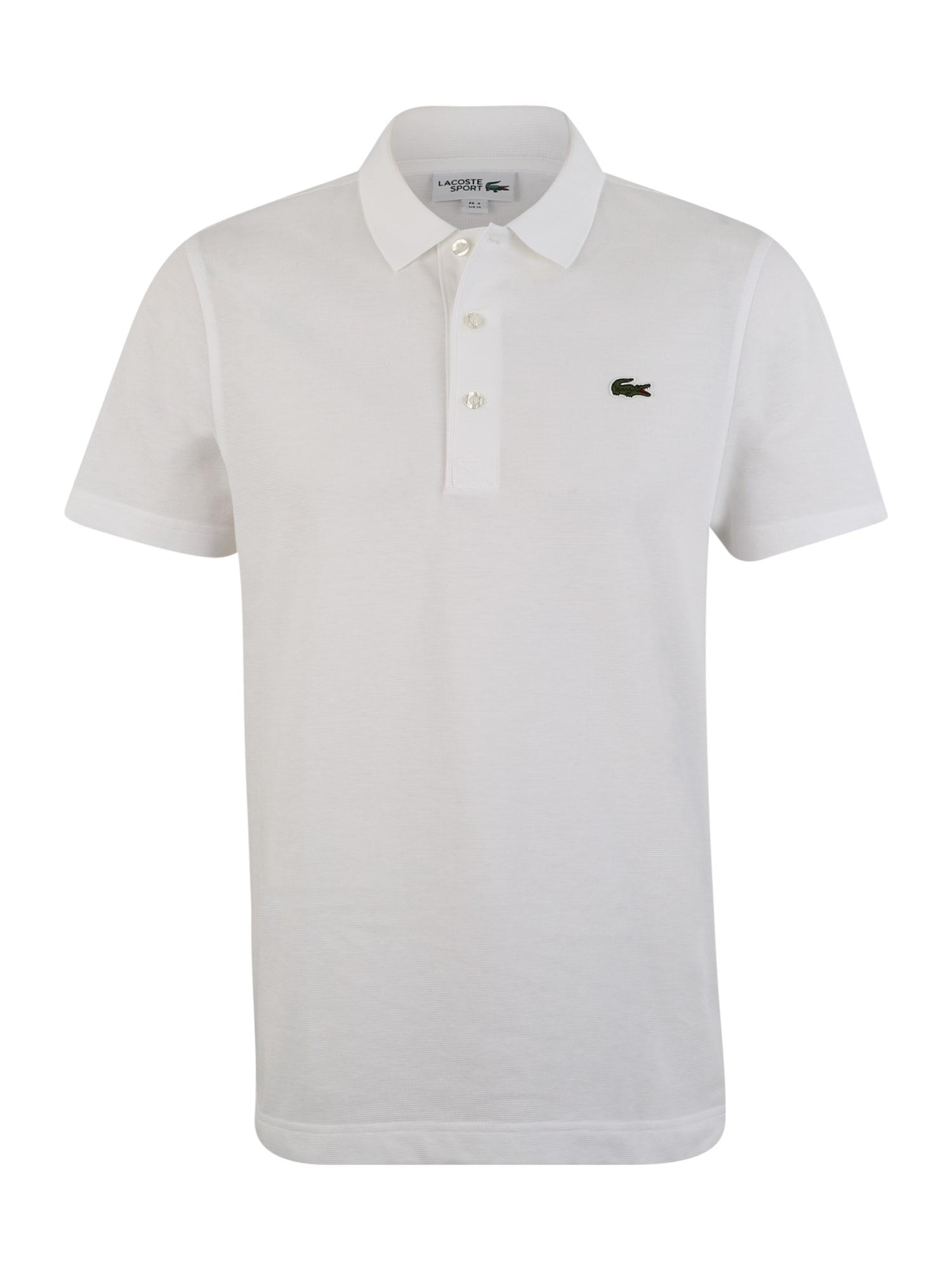Lacoste Sport Sportiniai marškinėliai balta