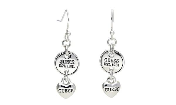 Ohrringe für Frauen - GUESS Ohrhänger 'UBE81123' silber  - Onlineshop ABOUT YOU