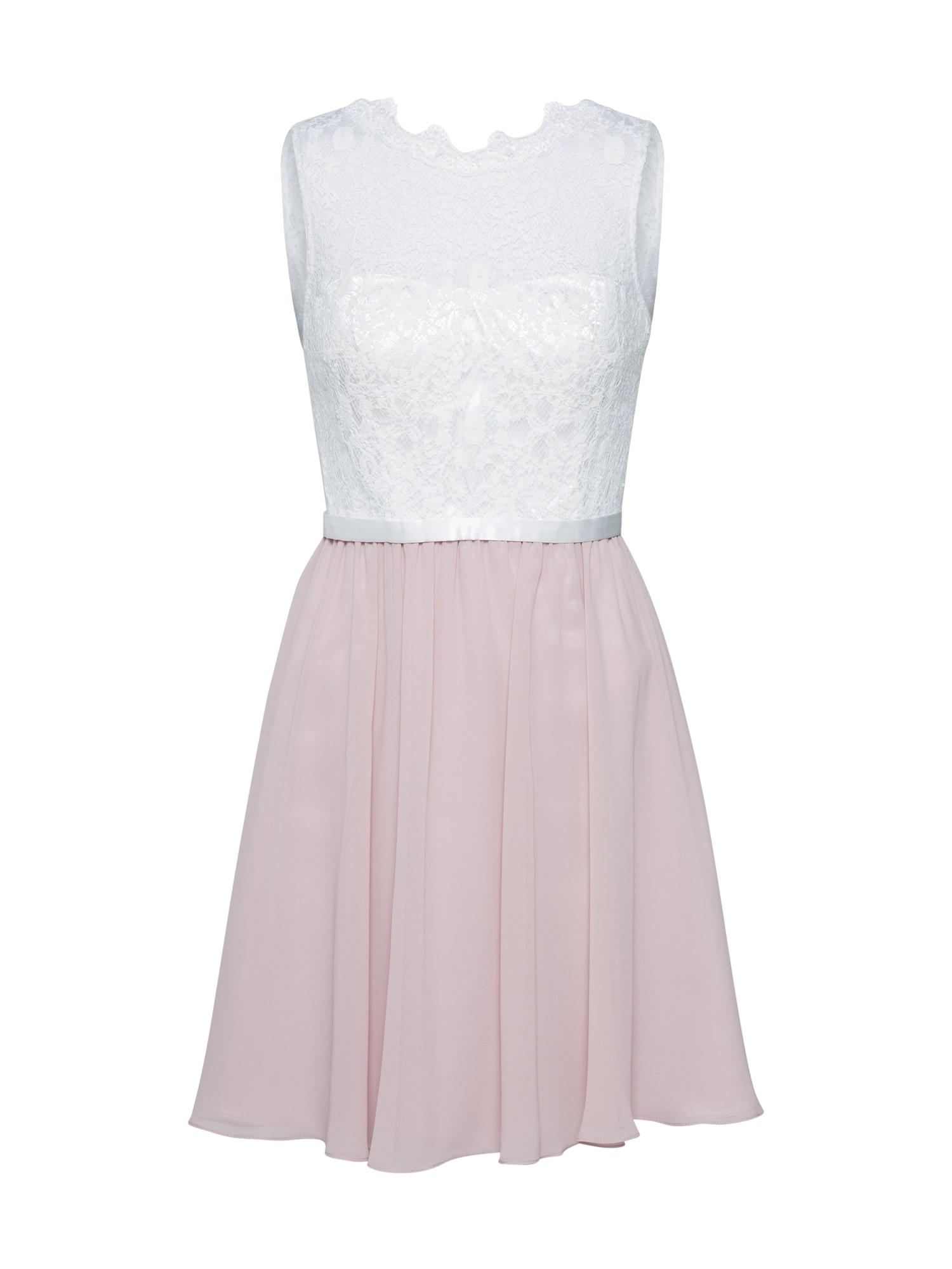 Laona Kokteilinė suknelė rožinė / kremo