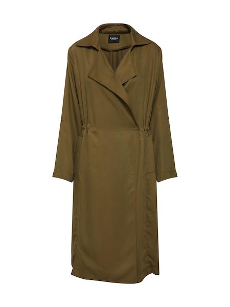 Jacken für Frauen - GUESS Mantel 'Alessia' oliv  - Onlineshop ABOUT YOU