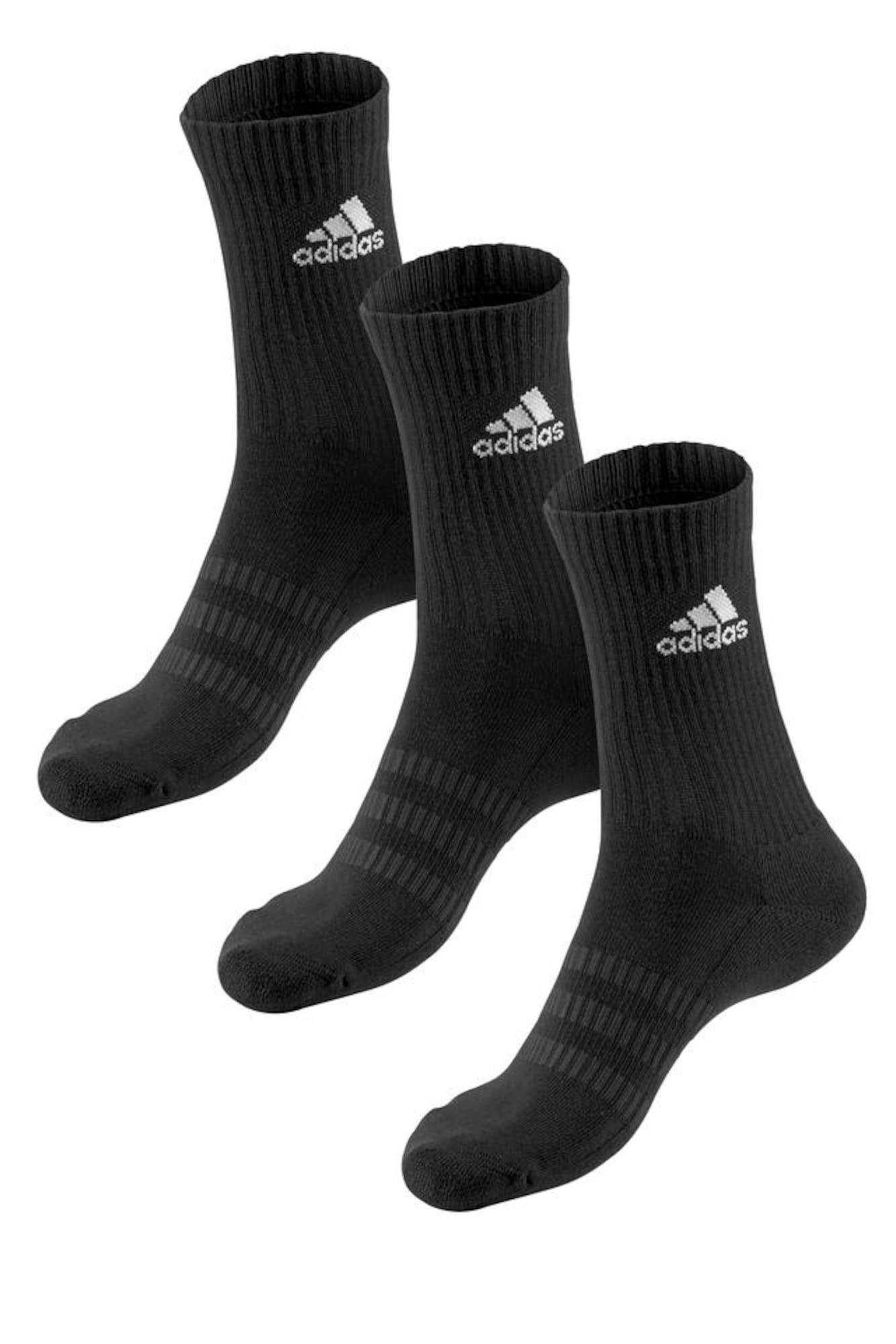 ADIDAS PERFORMANCE Sportinės kojinės juoda / balta