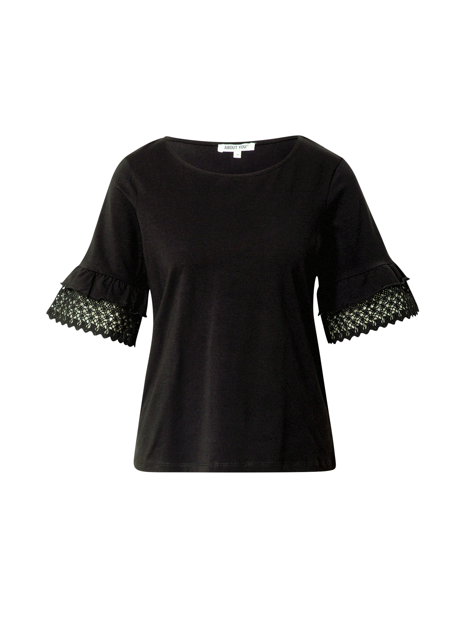 ABOUT YOU Marškinėliai 'Godela' juoda