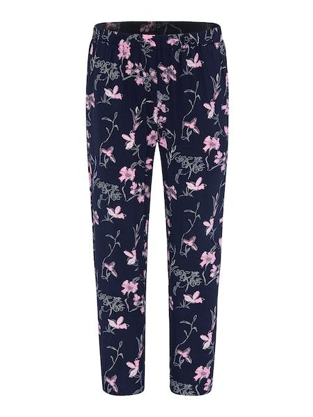 Hosen für Frauen - Hose 'PALOMA' › BROADWAY NYC FASHION › dunkelblau rosa weiß  - Onlineshop ABOUT YOU