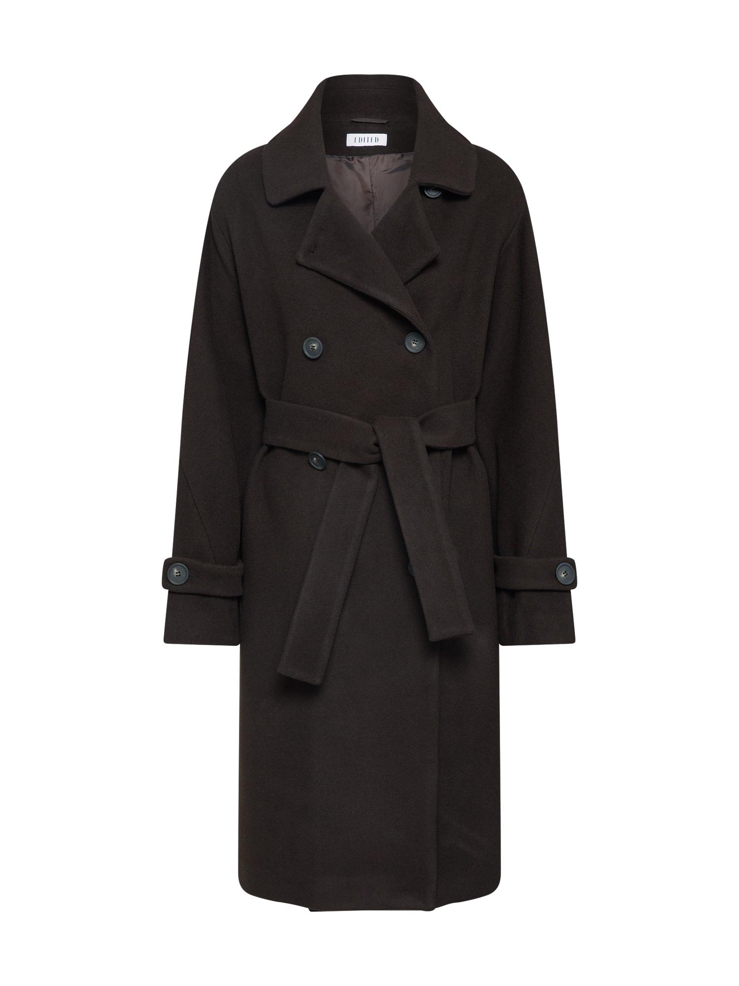 EDITED Rudeninis-žieminis paltas 'Jolan' ruda / tamsiai ruda